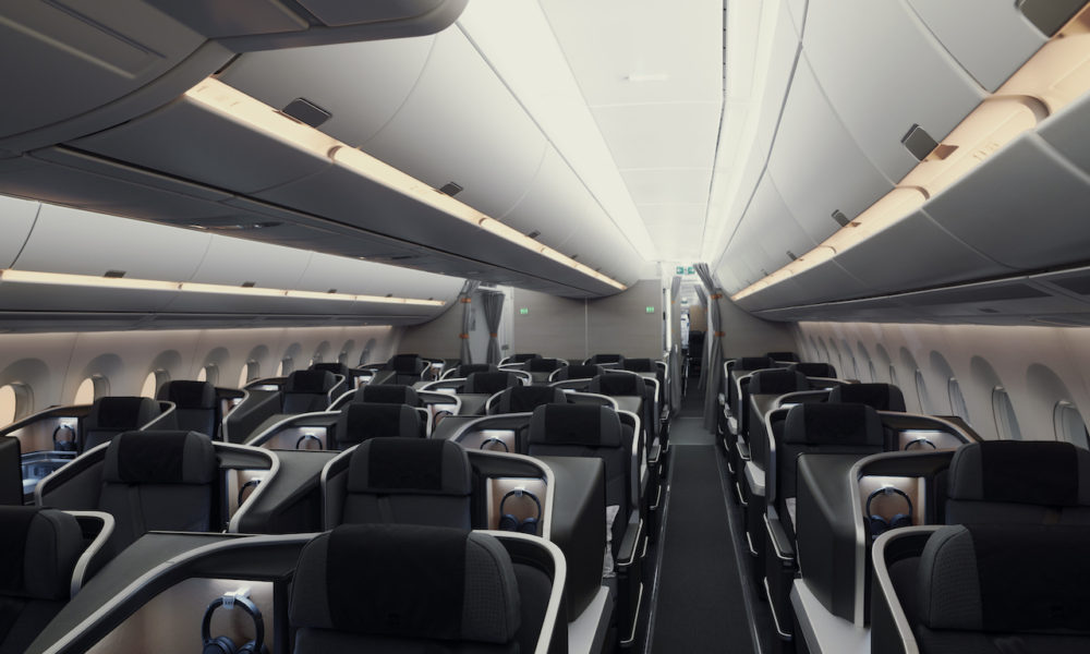 SAS Business Cabin A350 Press Image