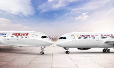 China Eastern & Juneyao Air