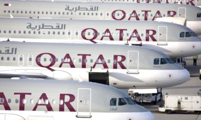 Parked Qatar Airways Fleet